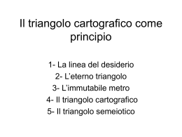 triangolo cartografico