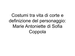Marie Antoniette di Sofia Coppola