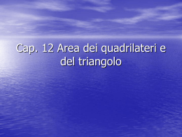 Area triangoli e quadrilateri
