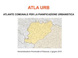 Atlante comunale per la Pianificazione - Piacenz@