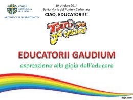 01D0047_EDUCATORII GAUDIUM