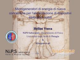 Helios Vocca NiPS Laboratory