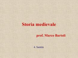Storia medievale - 4. i santi.