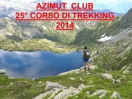 Slideshow Corso di trekking - Presentazione