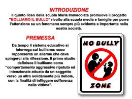 bullismoopuscolo - Istituto Maria Immacolata