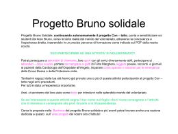 Progetto Bruno solidale