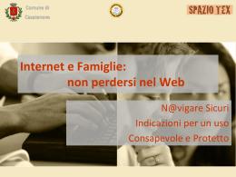 Internet e Famiglie: non perdersi nel Web