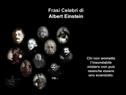 Albert Einstein - Partecipiamo.it