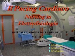 Problematiche Nursing nel Laboratorio di Elettrostimolazione