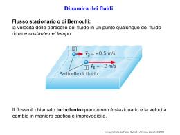 l`equazione di bernoulli - ISIS Licei Pujati di Sacile