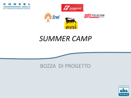 Summer Camp - Pacinotti