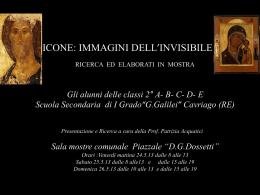 """ICONE - Istituto Comprensivo """" Don Dossetti"""" Cavriago"""