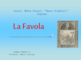 La Favola - Home - www.multimediadidattica.it