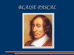Blaise Pascal ()