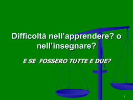 A. Canevaro: slide incontro 18/03/2013