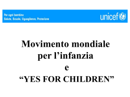 YES FOR CHILDREN - Comune di Massa Lombarda