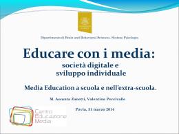 Educare con i media