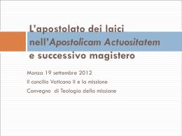 Diapositiva 1 - Seminario di Monza