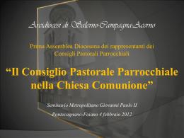 Presentazione - Arcidiocesi | Salerno-Campagna
