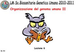 DNA ripetuto - Dipartimento di Biologia