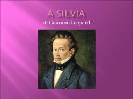 A Silvia - E. Mattei