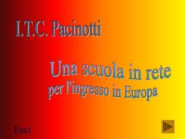 Presentazione di PowerPoint - ITC Antonio Pacinotti