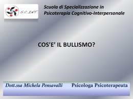 Bullismo I