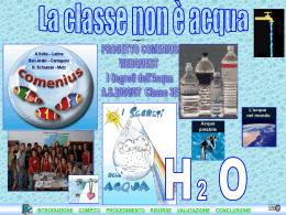 La classe non è Acqua (presentazione powerpoint)
