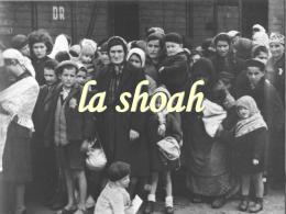la shoah Shoa o olocausto?