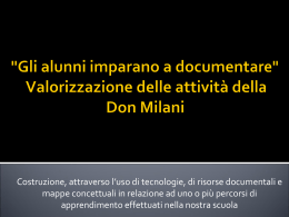 documentare_presentazione - secondedonmilani
