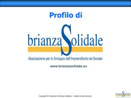 Cosa è Brianza Solidale