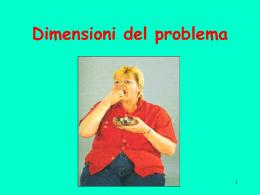 Dimensioni del problema - Dipartimento di Prevenzione