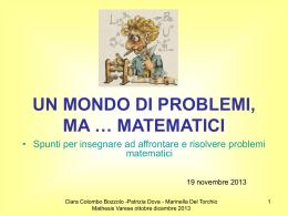 mathesis 19 novembre 2013