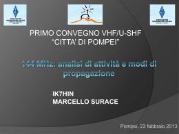 144 Mhz - ARI Pompei