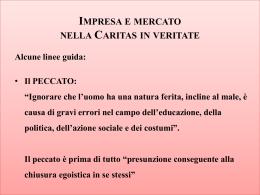 """Impresa e Mercato nella """"Caritas in Veritate"""" (slide)"""