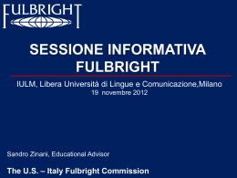 Borse di studio Fulbright