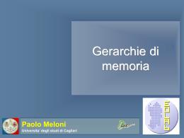 Gerarchie di memoria