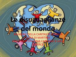 Le disuguaglianze del mondo - Pontificio Collegio Gallio