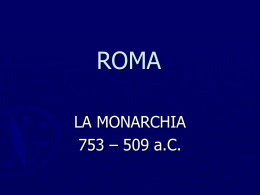 Roma - monarchia