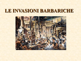I barbari invadono l`impero