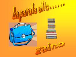 Lo zaino (Alessia) - Sito Istituto Comprensivo di Avigliana TO