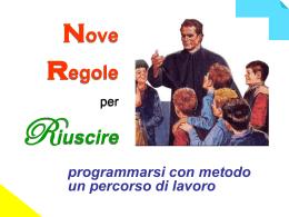 Nove regole - sito pgs abruzzo
