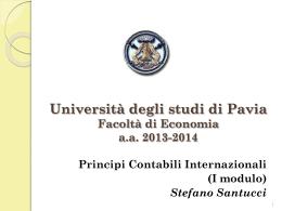 IAS 38-IFRS5 - Economia - Università degli studi di Pavia