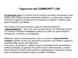 La valutazione degli interventi e dei servizi sociali Piero D`Argento