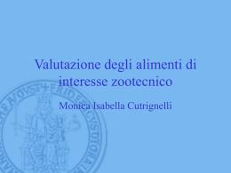 Valutazione degli alimenti di interesse zootecnico