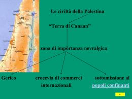 Civiltà della Palestina - Liceo Leonardo da Vinci | Terracina