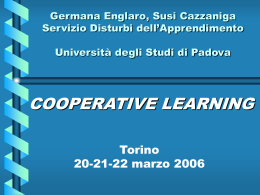cooperative learning -