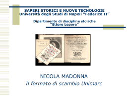 PowerPoint - Università degli Studi di Napoli Federico II