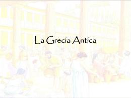 Grecia Antica - Istituto Virgo Fidelis