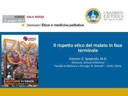 Il rispetto etico del malato in fase terminale- Dott.A.Spagnolo